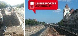 Bilder vom Wiental: So gehen die U4-Bauarbeiten voran