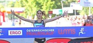 Die Gewinnerinnen des Österreichischen Frauenlaufs 2016 in Wien