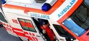 Unfall in Wien-Floridsdorf: Rettungswagen mit Pkw kollidiert