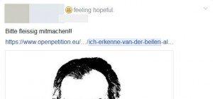 Nach BP-Wahl: Wirbel um Online-Petition gegen Van der Bellen als Bundespräsident