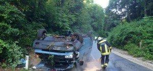 Lenker von Kleintransporter flüchtete nach Unfall