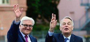 Steinmeier und Ayrault fordern Schulterschluss als Antwort