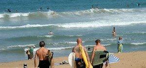 Mit Pistole am Strand: Frankreich bewaffnet Bade-Polizisten