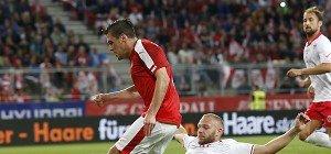 Glanzloser 2:1-Sieg des ÖFB-Teams im EM-Test gegen Malta