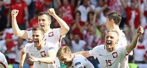 Polen besiegte Schweiz im Elfmeterschießen