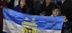 Argentiniens Präsident und Maradona appellieren an Messi