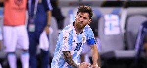 Messi beendete Teamkarriere nach Copa-Niederlage