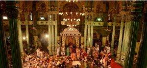 Maharadscha-Familie feierte Hochzeit in Indien
