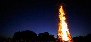 Die besten Bilder vom Sonnenwendfeuer in Bergheim