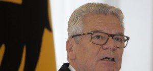 """""""Volksverräter"""": Bundespräsident Gauck in Sachsen massiv beschimpft"""
