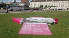 Freiluft-Ausstellung rund um das Hofburg-Areal