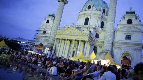 Das Popfest am Wiener Karlsplatz