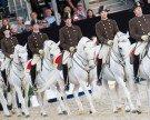 Spanische Hofreitschule in Wien ehrte zwei dänische Prinzessinnen