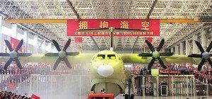 China entwickelte weltgrößtes Wasserflugzeug