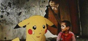 Syrischer Künstler montiert Pokemon in Bilder der Zerstörung