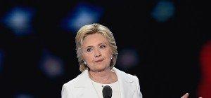 Clinton ist Präsidentschaftskandidatin der Demokraten