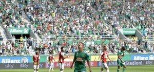 Ried bei Liga-Premiere im Allianz Stadion von Rapid deklassiert