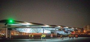 Solarflugzeug kurz vor Ende der Weltumrundung