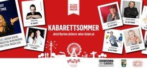 Tickets für den 1. Wiener Kabarettsommer im Prater gewinnen