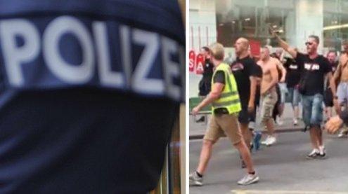 Elf Festnahmen: Trnava-Hools halten die Wiener Polizei in Atem