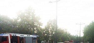 Unfall: Pkw-Lenker prallt auf der Schmelz in einen Bus der Linie 10A
