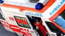 Schlaganfall erlitten: Unfall auf der A22 in Wien