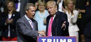 Trump erhielt Wahlkampfhilfe von Nigel Farage
