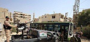 Erste Bewohner verlassen belagerte syrische Stadt Daraya