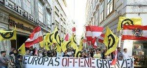 Schwaches Aufgebot bei Identitären-Demo in Wien