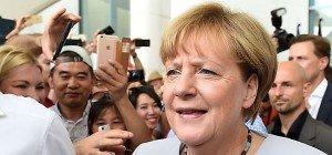 Merkel verteidigt Flüchtlingspolitik der vergangenen Monate