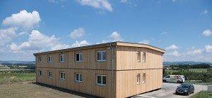 Wiederaufgebautes Asylquartier in Altenfelden bezugsfertig