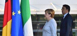 Merkel und Renzi: Nicht jeder kann in Europa bleiben