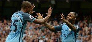 Manchester City verteidigte die Tabellenführung mit Erfolg