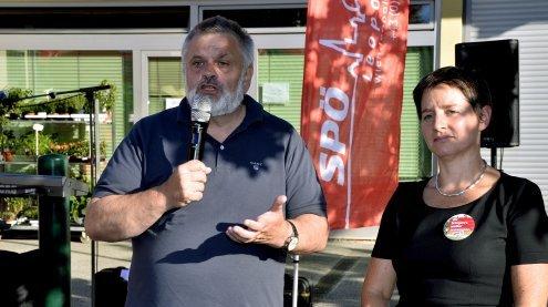 Wahlkampfauftakt im 2. Bezirk: SPÖ-Auftakt mit Verspätung
