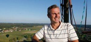 Bundespräsidentenwahl: Ballonfahrt mit Norbert Hofer