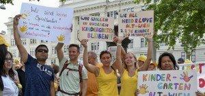 """1.200 """"Alt Wien""""-Kindergartenkinder mit neuen Plätzen"""