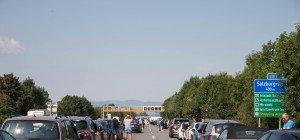 Starker Reiseverkehr in Österreich am Wochenende