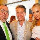 Promi-Sause: Nadine Friedrich und Thomas Netopilik feierten Geburtstag