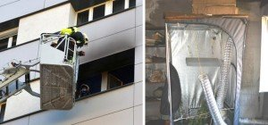 Zimmerbrand in der Leopoldstadt: Marihuana-Anlage als Auslöser