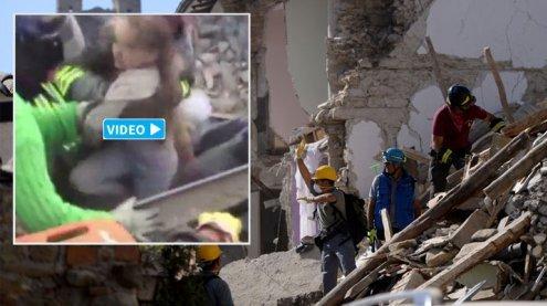 247 Tote nach Erdbeben in Italien