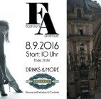 Fashion Avenue in der Wiener Seilerstätte: Drinks, Musik und Shopping