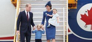 William und Kate zu Besuch in Kanada eingetroffen