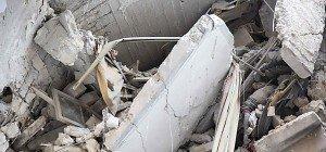 Offenbar Rebellen-Krankenhaus in Aleppo zerstört