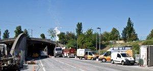 Lieferinger Tunnel: Sanierung der zweiten Röhre begonnen