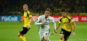 CL: Spektakuläres 2:2-Remis zwischen Borussia Dortmund und Real Madrid