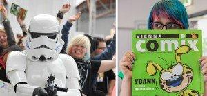 """Vienna Comix mit mehr Platz und """"Star Wars""""-Special in der Marx Halle"""
