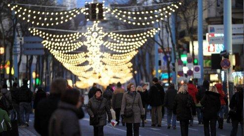 Einkaufen am 8. 12. in Wien: Die Öffnungszeiten der Geschäfte