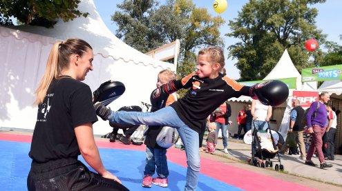 """Tag des Sports"" heute im Prater"