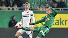 Rapid kam über 0:0 gegen die Admira nicht hinaus