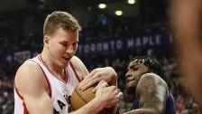 Starker März: Pöltlzeigt in der NBA auf